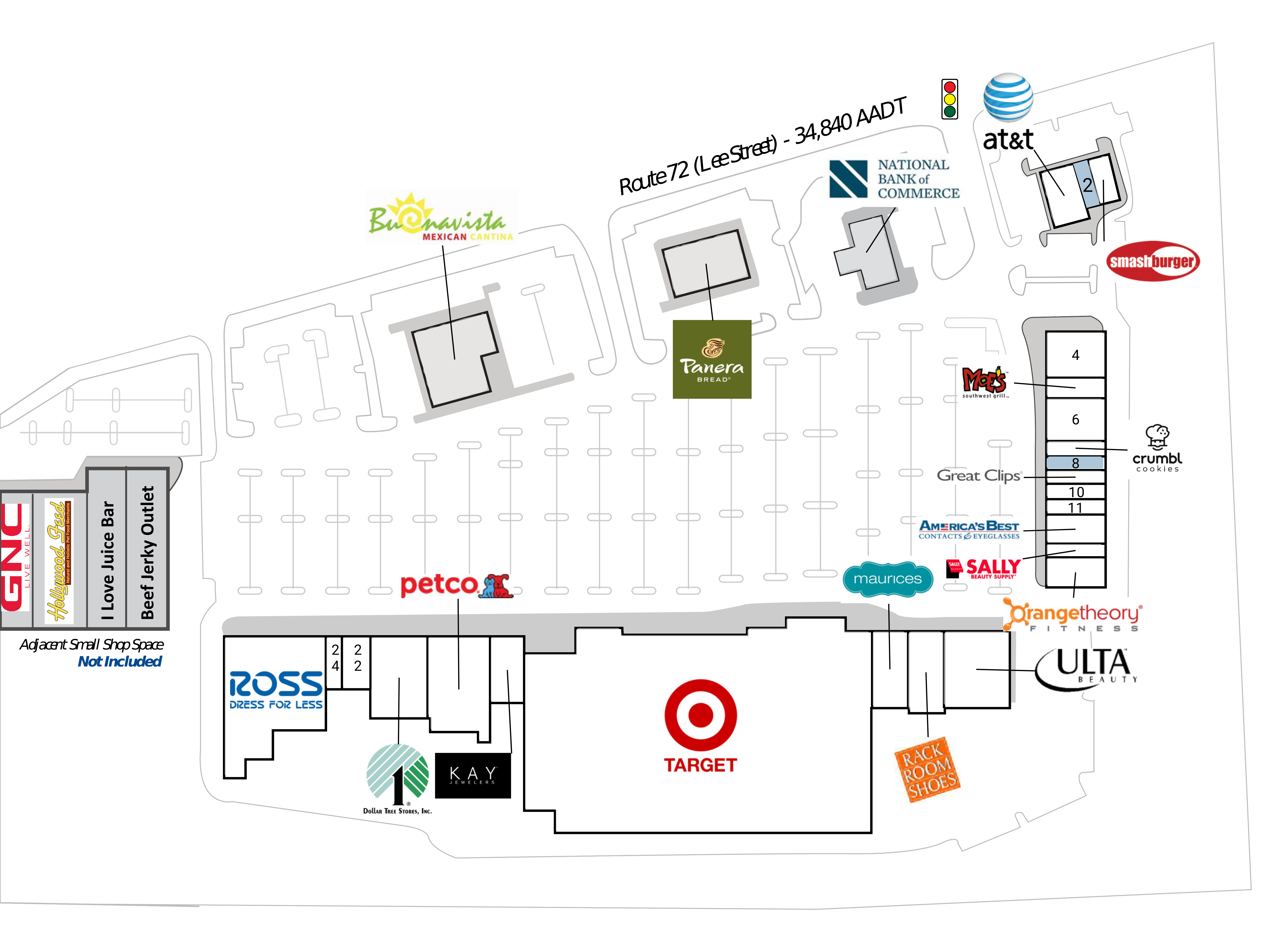 Madison AL: Shoppes of Madison - Retail Space For Lease