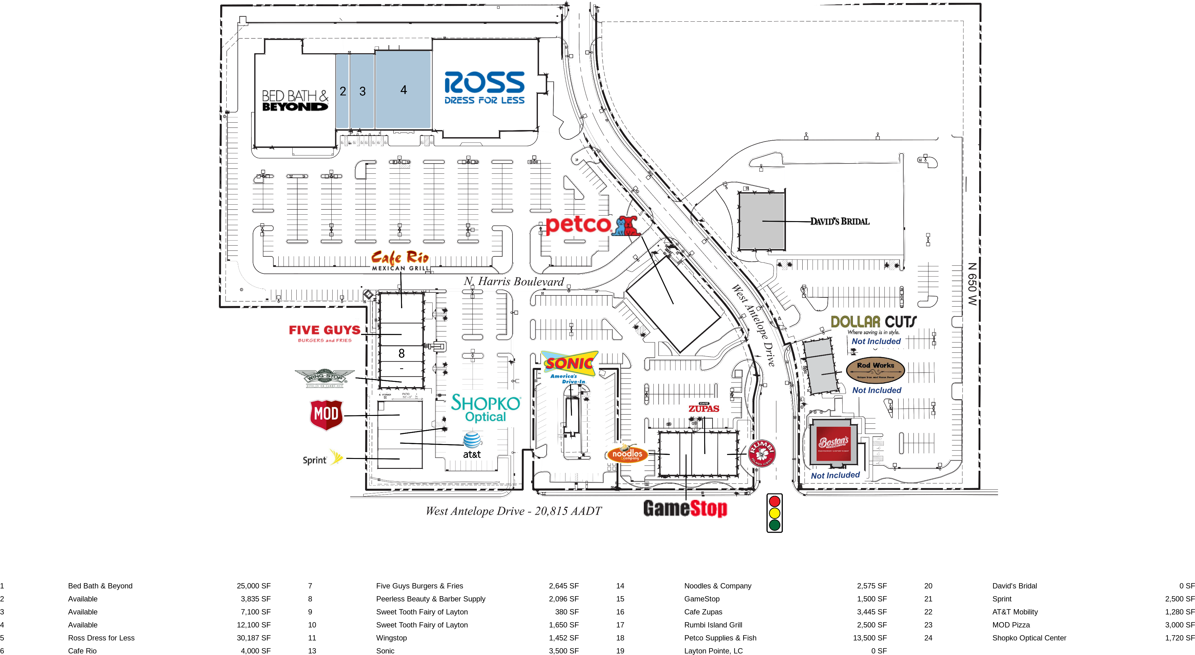 Westfield Fashion Square Center Map 27