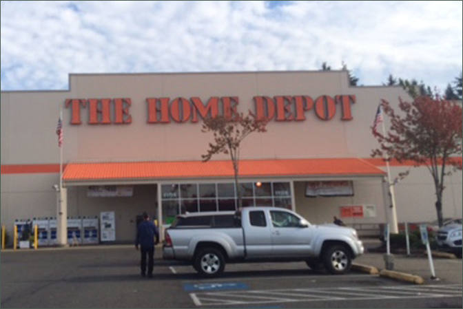 Tacoma Wa Home Depot Tacoma Retail Space Inland Investment Real Estate Services Llc